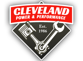 "Cleveland Power & Performance ""Retro"" Logo Vinyl Sticker - Cleveland Power & Performance"