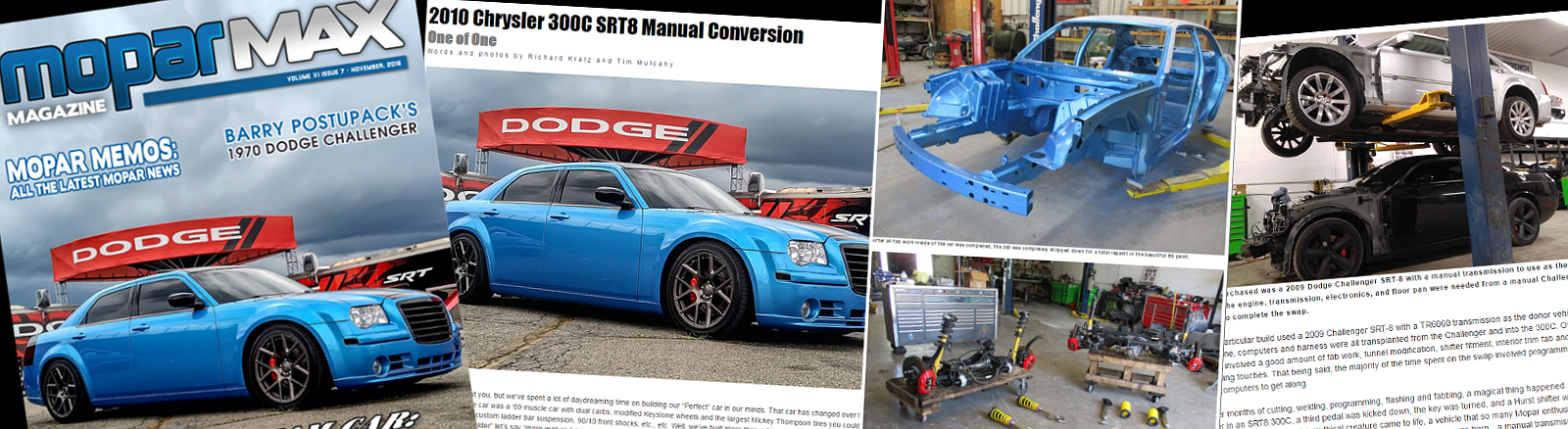 2010 Chrysler 300C Manual Trans Conversion