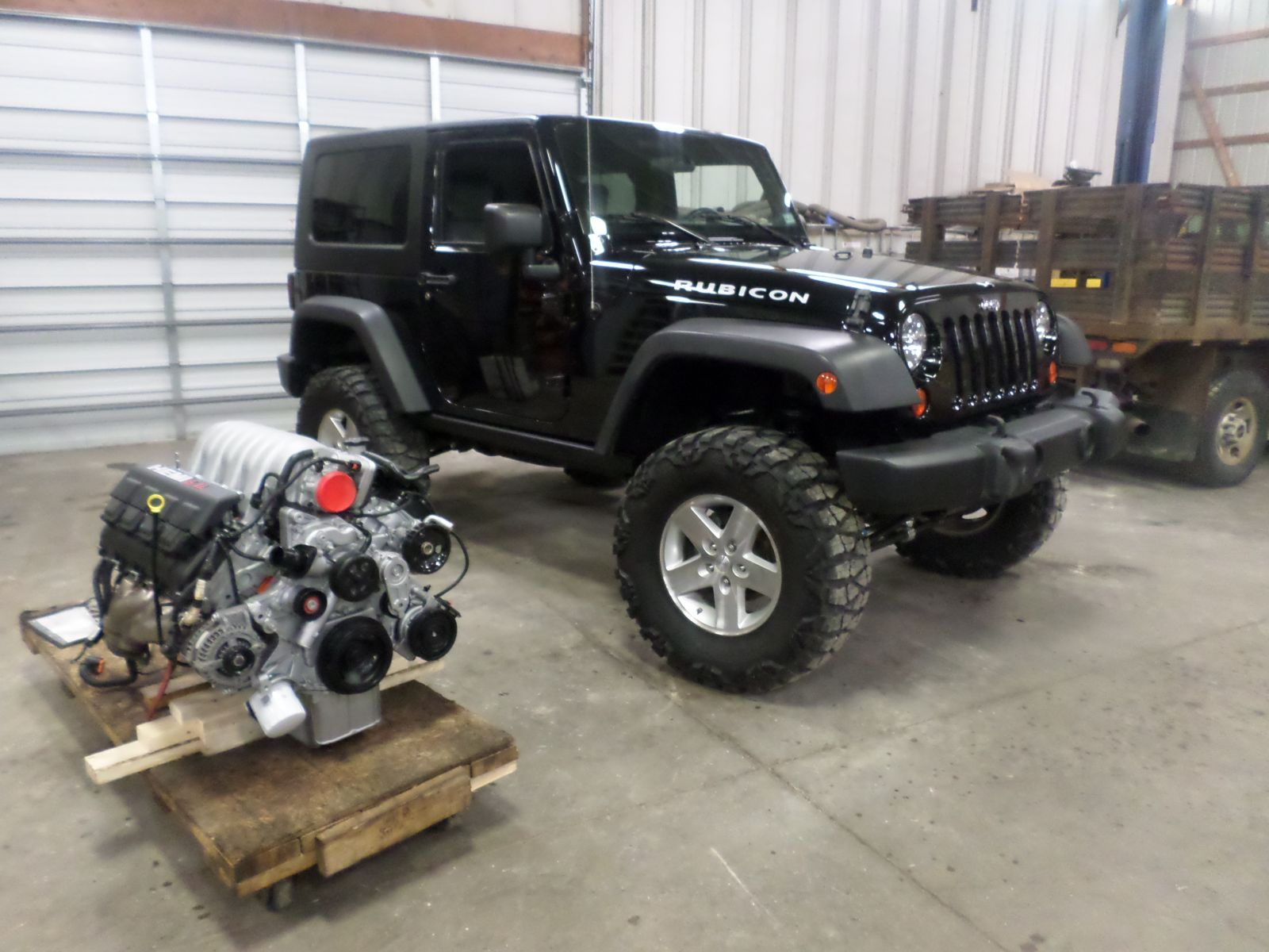 2008 Jeep Rubicon with 6.1L Hemi - Cleveland Power ...
