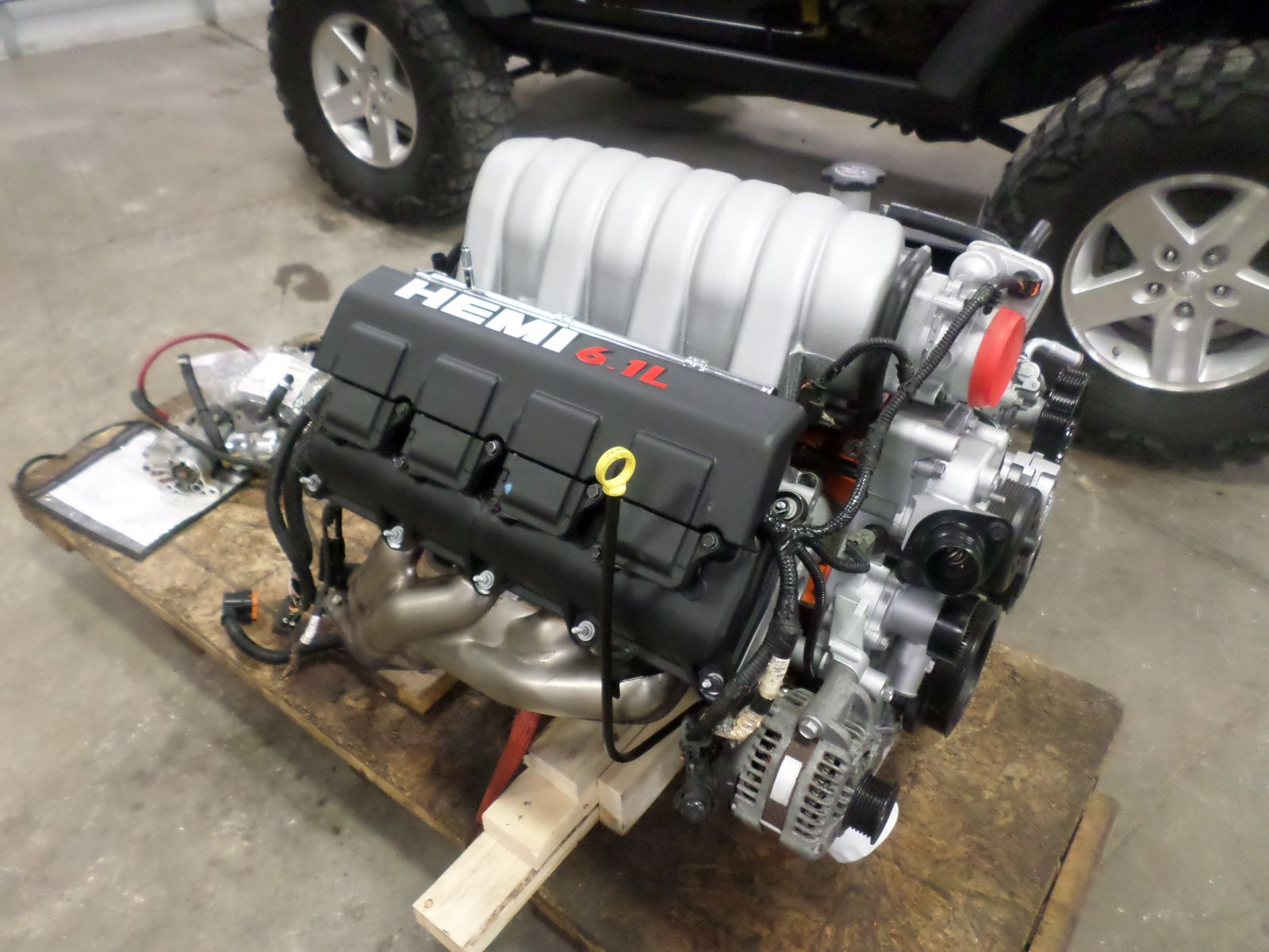 2008 Jeep Rubicon With 61L Hemi Cleveland Power