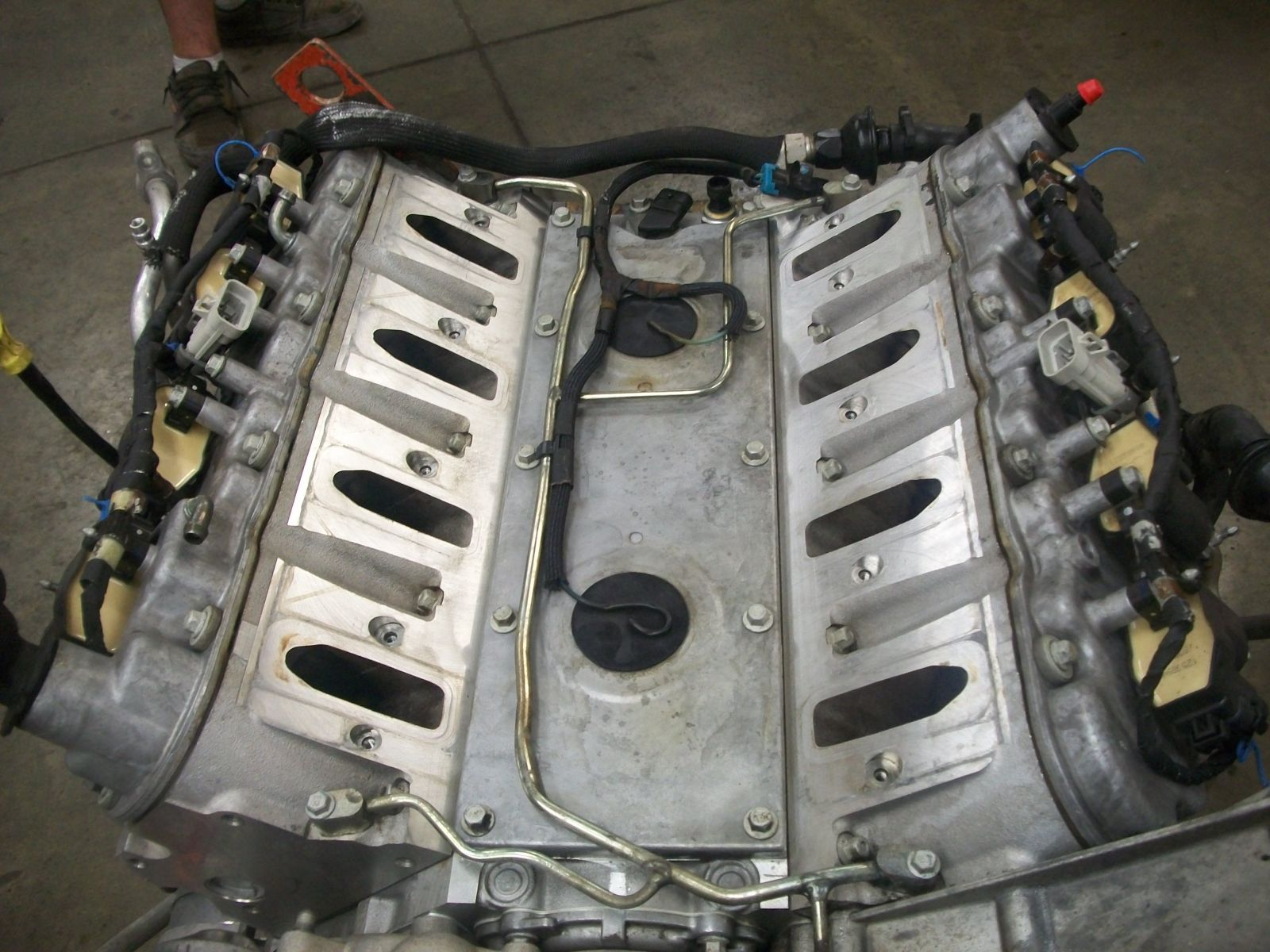 on ls corvette engine