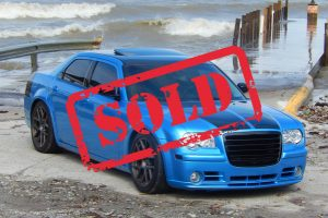 B5 BLUE 2010 300C SRT-8 MANUAL TRANS