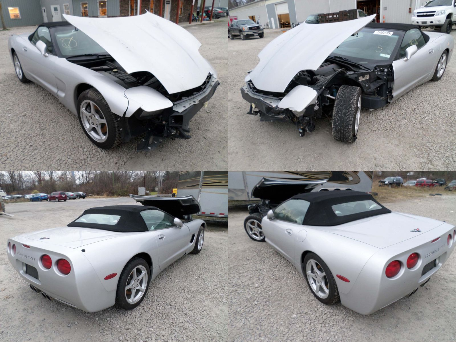 Corvette C5 For Sale >> 2002 Silver Chevrolet Corvette C5 Convertible - Cleveland ...