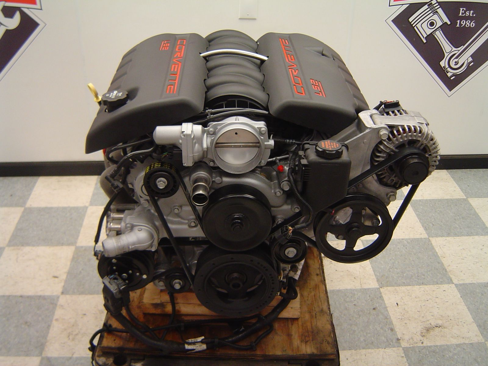 Custom Built Ls2 Corvette Engine Cleveland Power