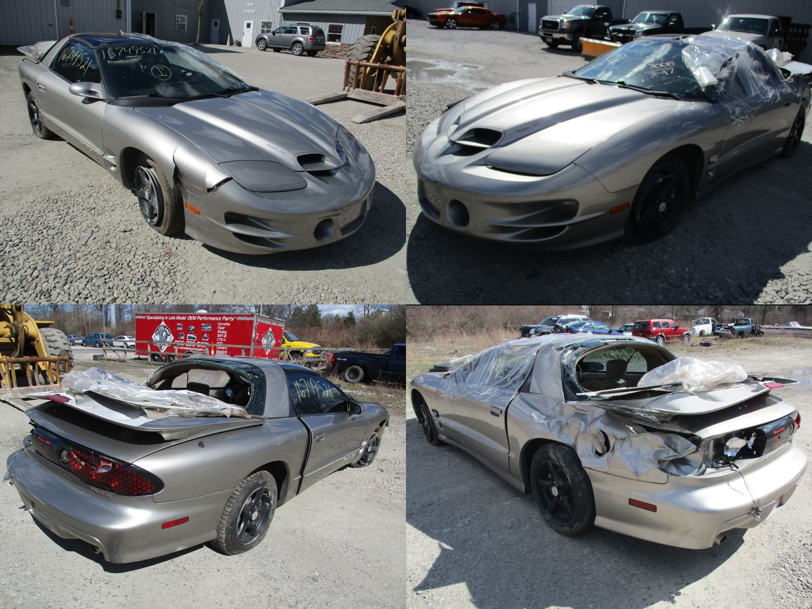 Wrecked Cars For Sale >> 2002 Pewter Pontiac Firebird Trans AM Ram Air WS6 - Cleveland Power & Performance