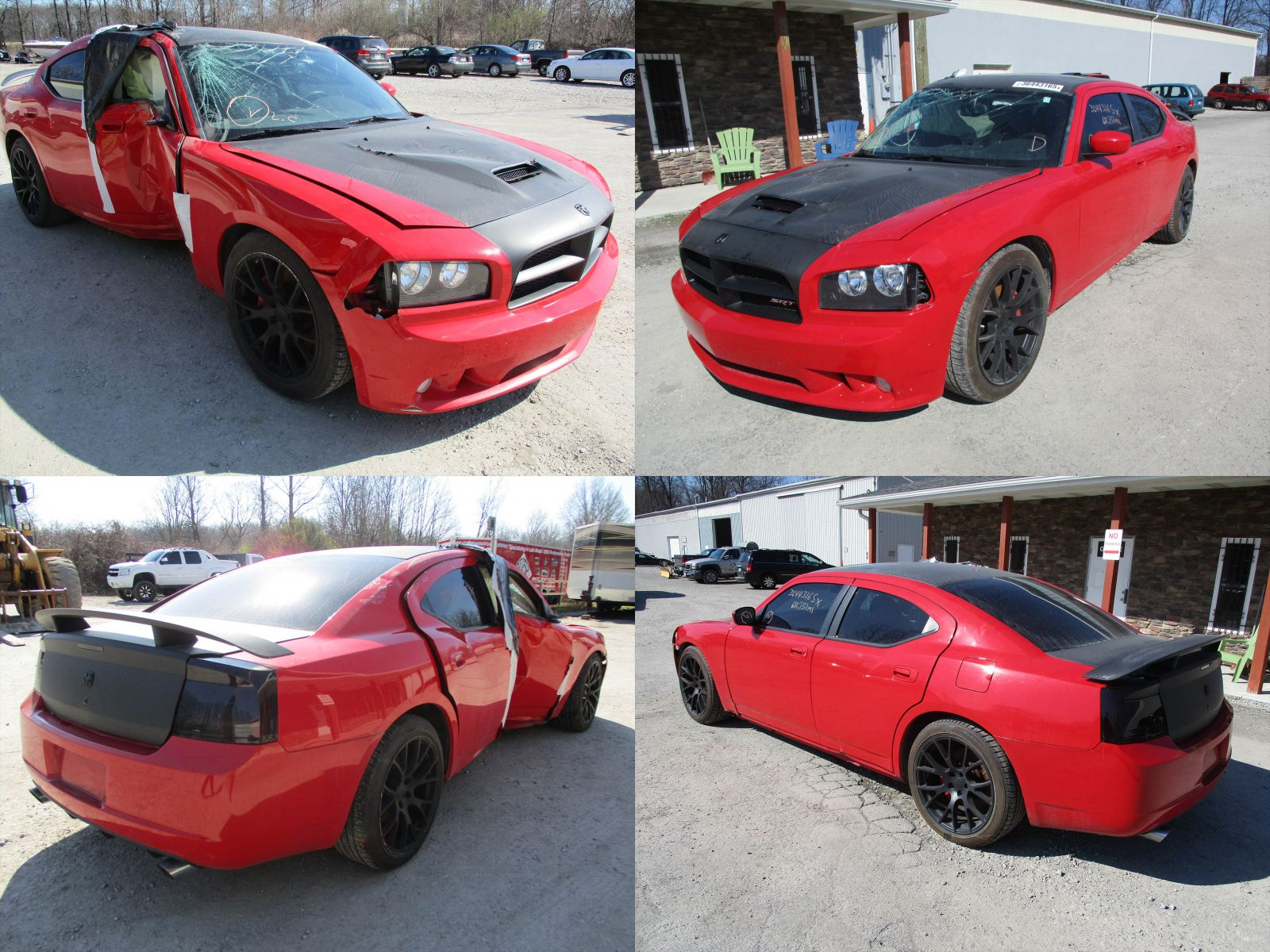 2008 Red Dodge Charger SRT-8 - Cleveland Power & Performance