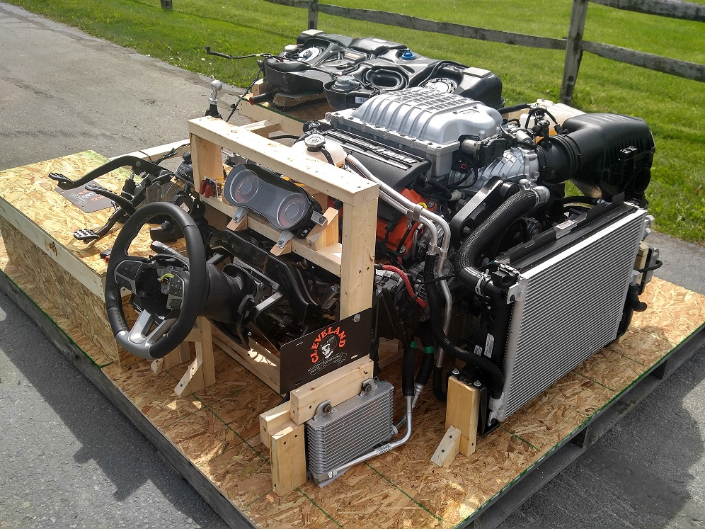 Worlds First Hellcat Turnkey Engines Cleveland Power