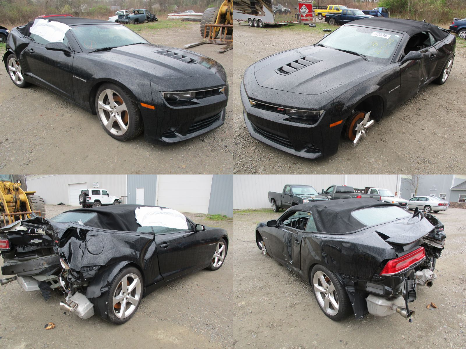 2014 Black Chevrolet Camaro Ss Cleveland Power Amp Performance