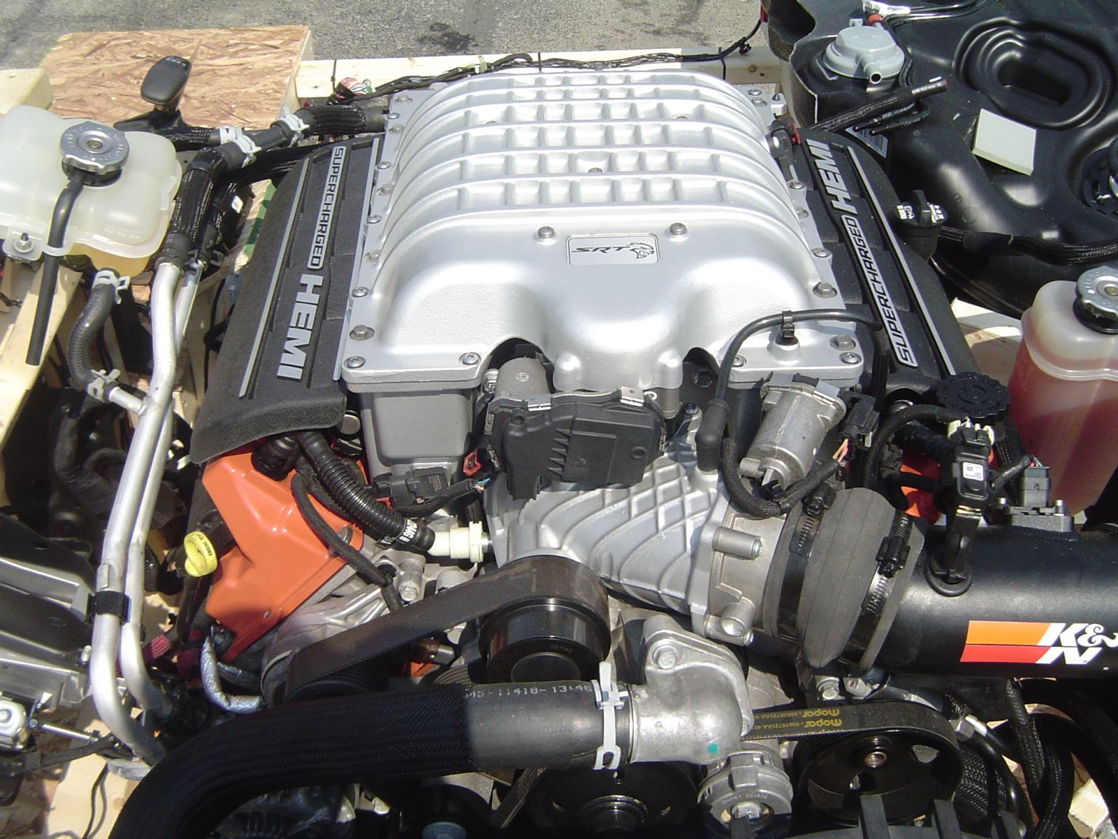 Worlds First Hellcat Turnkey Engines Cleveland Power Performance 2008 Charger Wiring Harness Engine Automatic