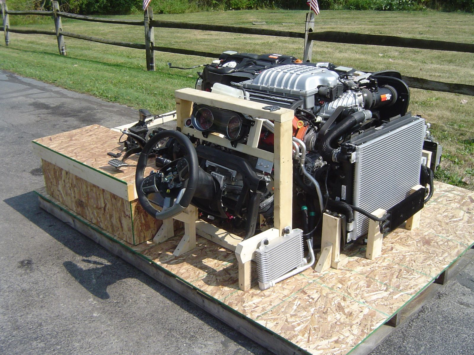 Worlds First Hellcat Turnkey Engines