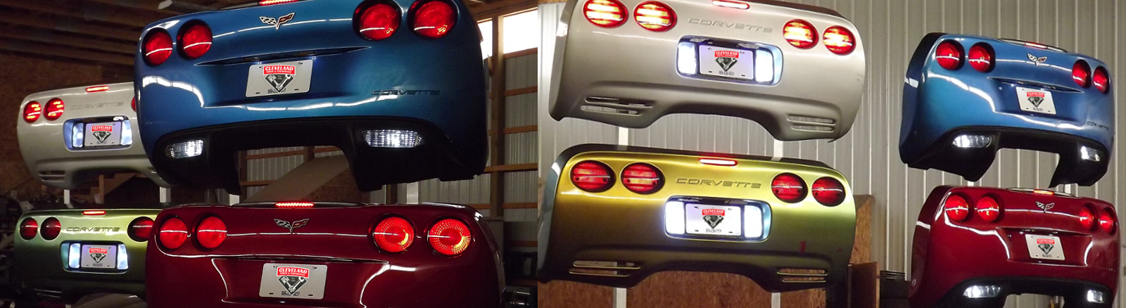 Corvette Bumper Wallart, you pick the color!