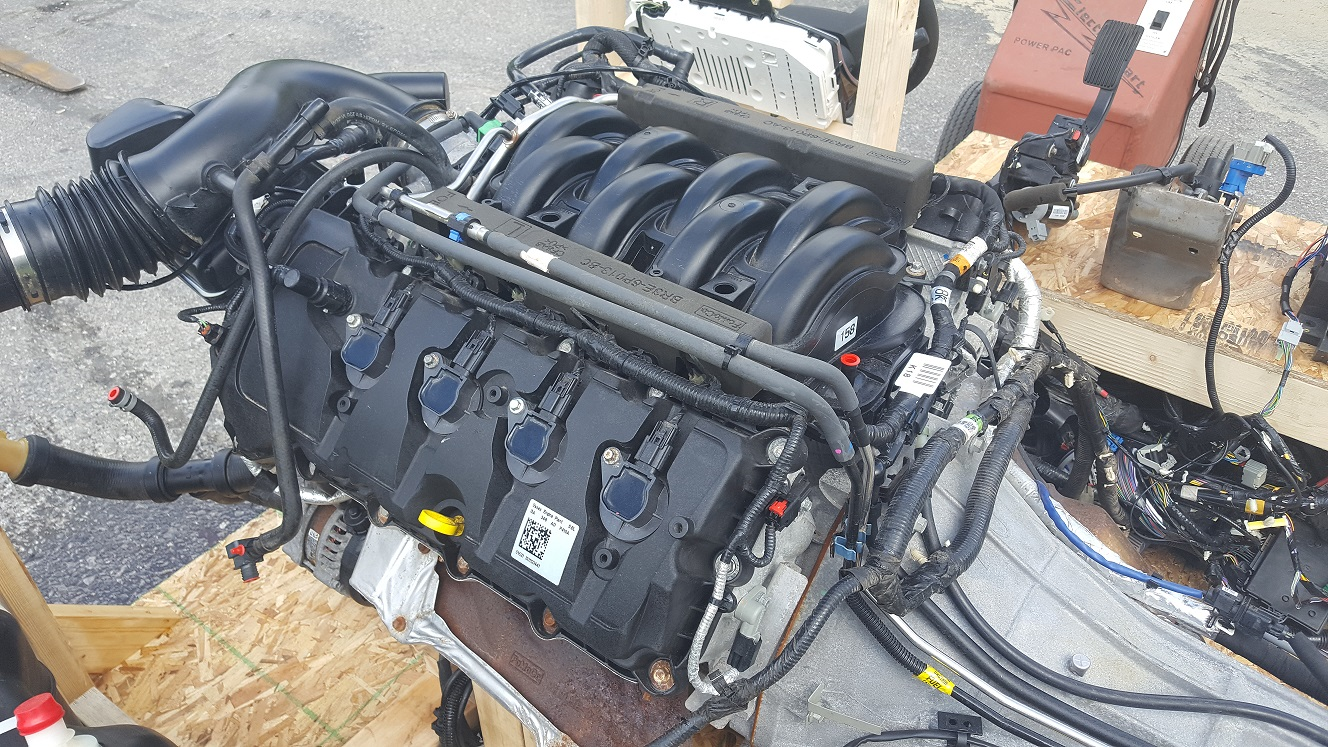 2010 Dodge Challenger SRT-8 6.1L HEMI Engine Rebuild