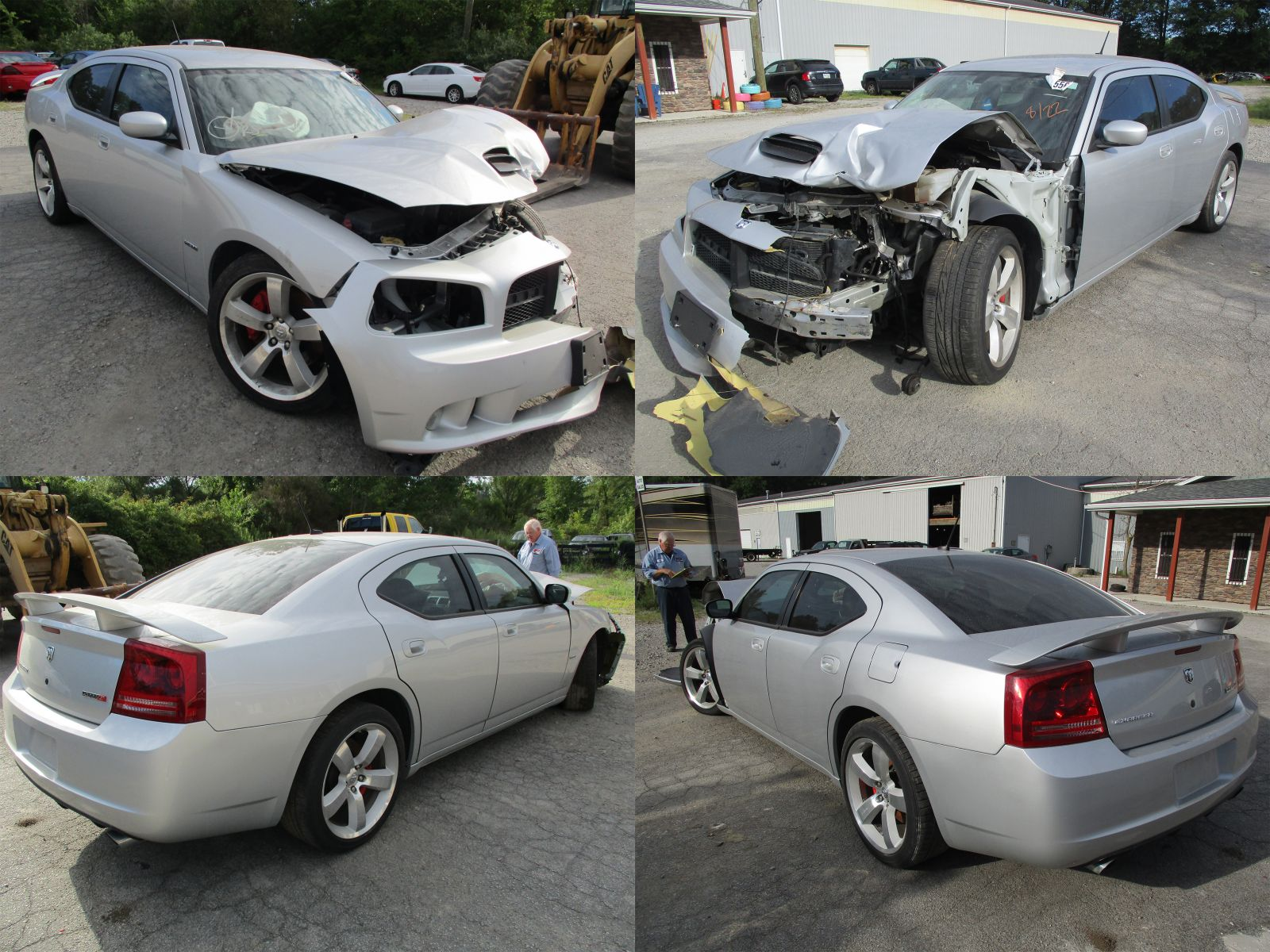 Wrecked Cars For Sale >> 2008 Silver Dodge Charger SRT-8 - Cleveland Power & Performance