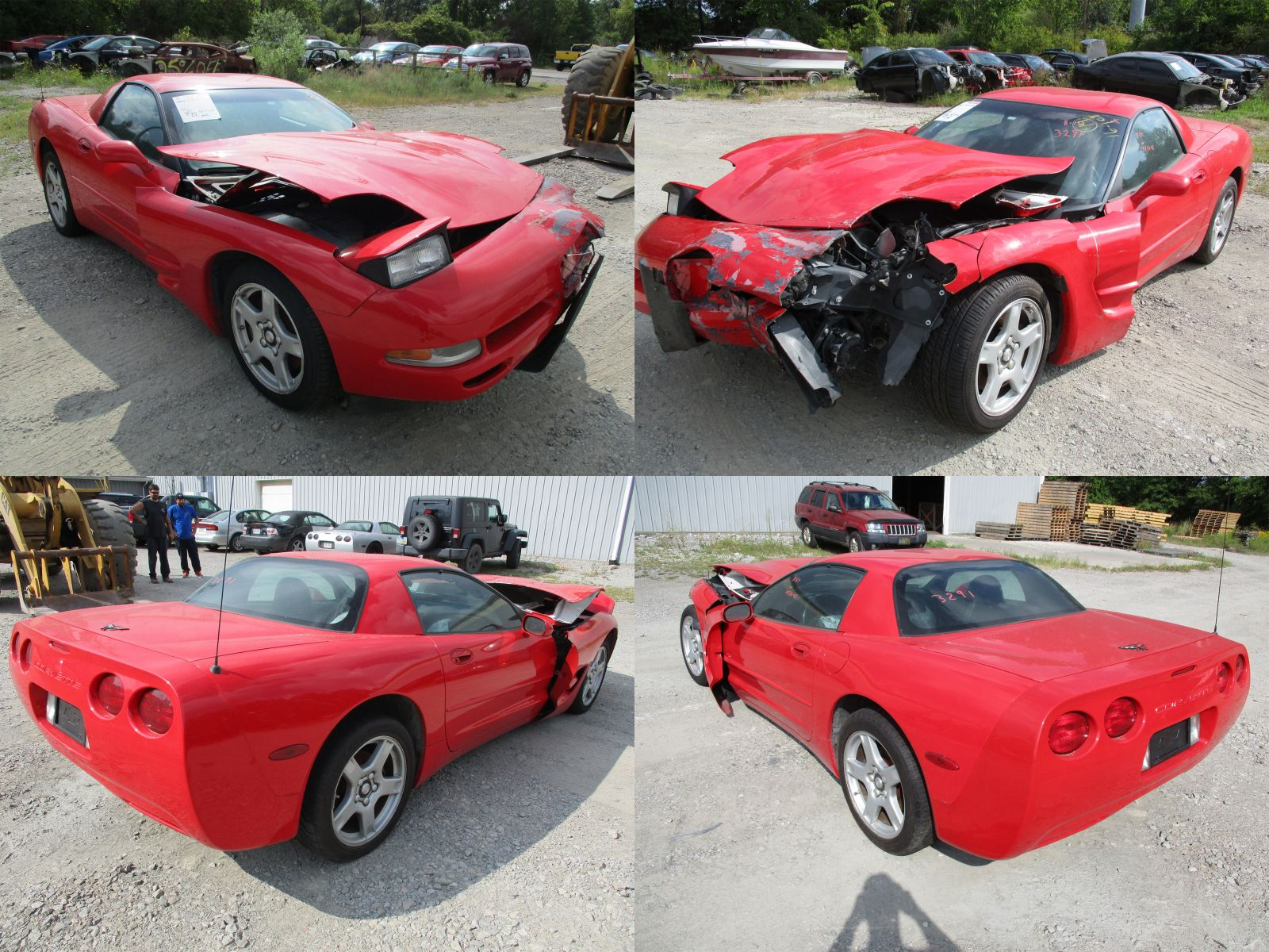 1999 Red Chevrolet Corvette C5 Frc Cleveland Power