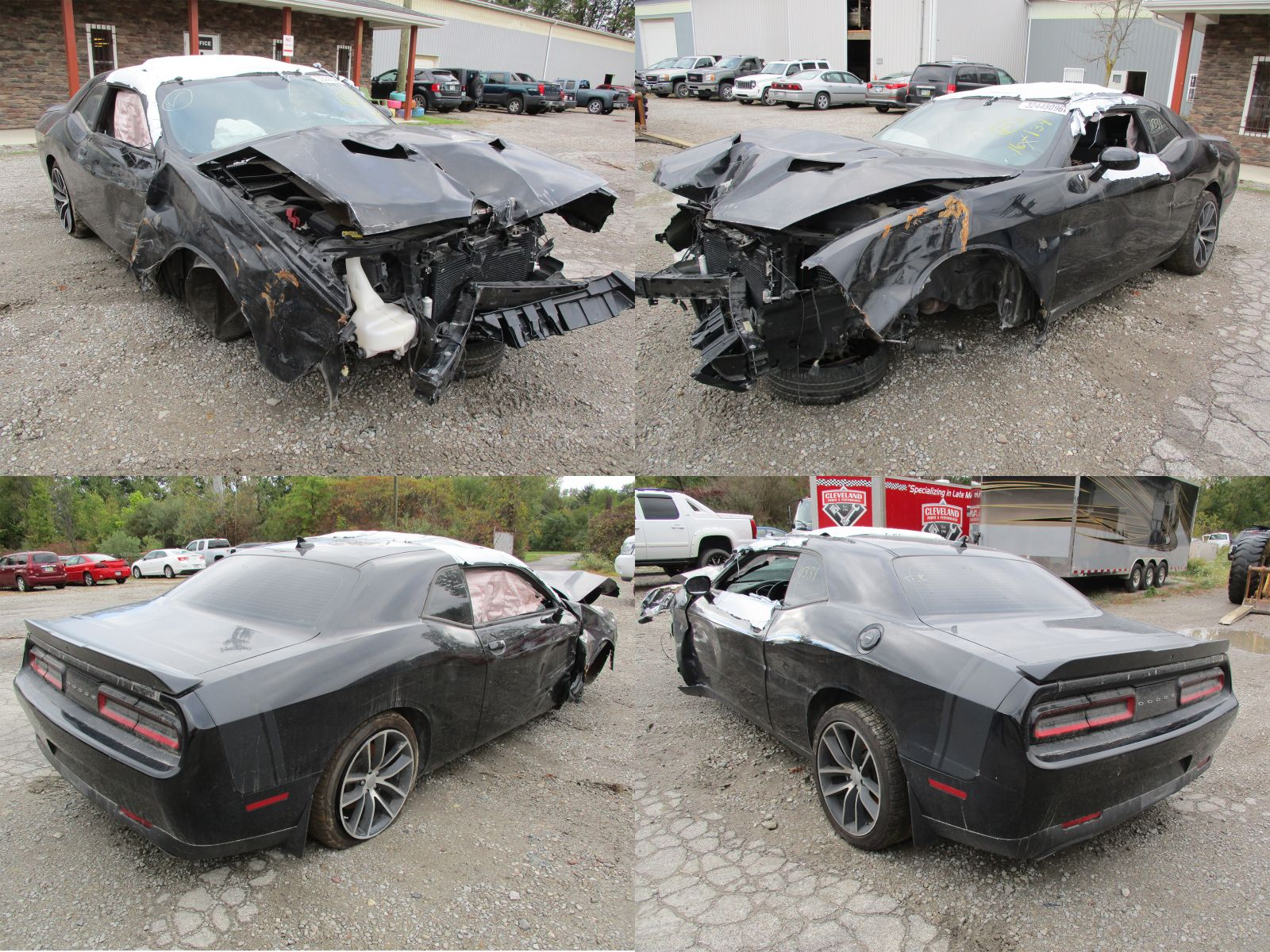 2015 black dodge challenger scat pack 6 4l cleveland. Black Bedroom Furniture Sets. Home Design Ideas
