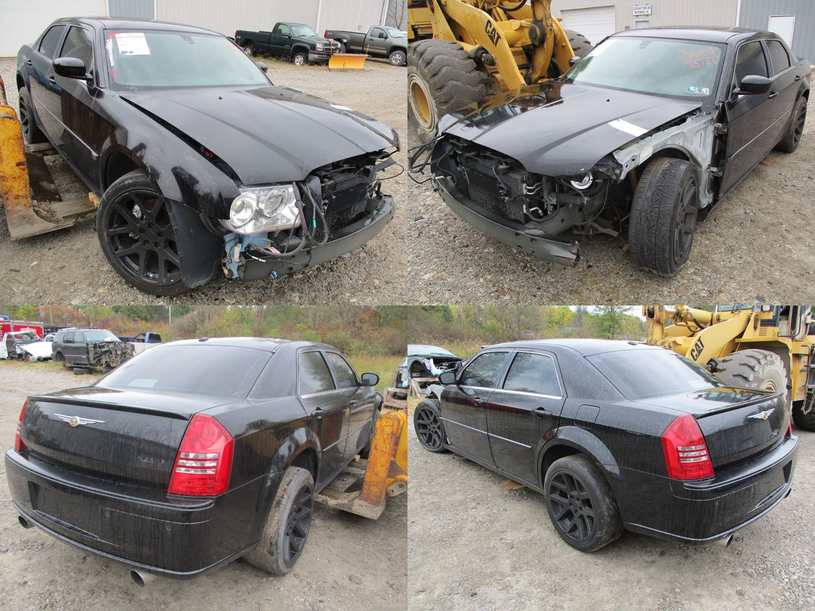 Wrecked Cars For Sale >> 2006 Black Chrysler 300C SRT-8 - Cleveland Power & Performance