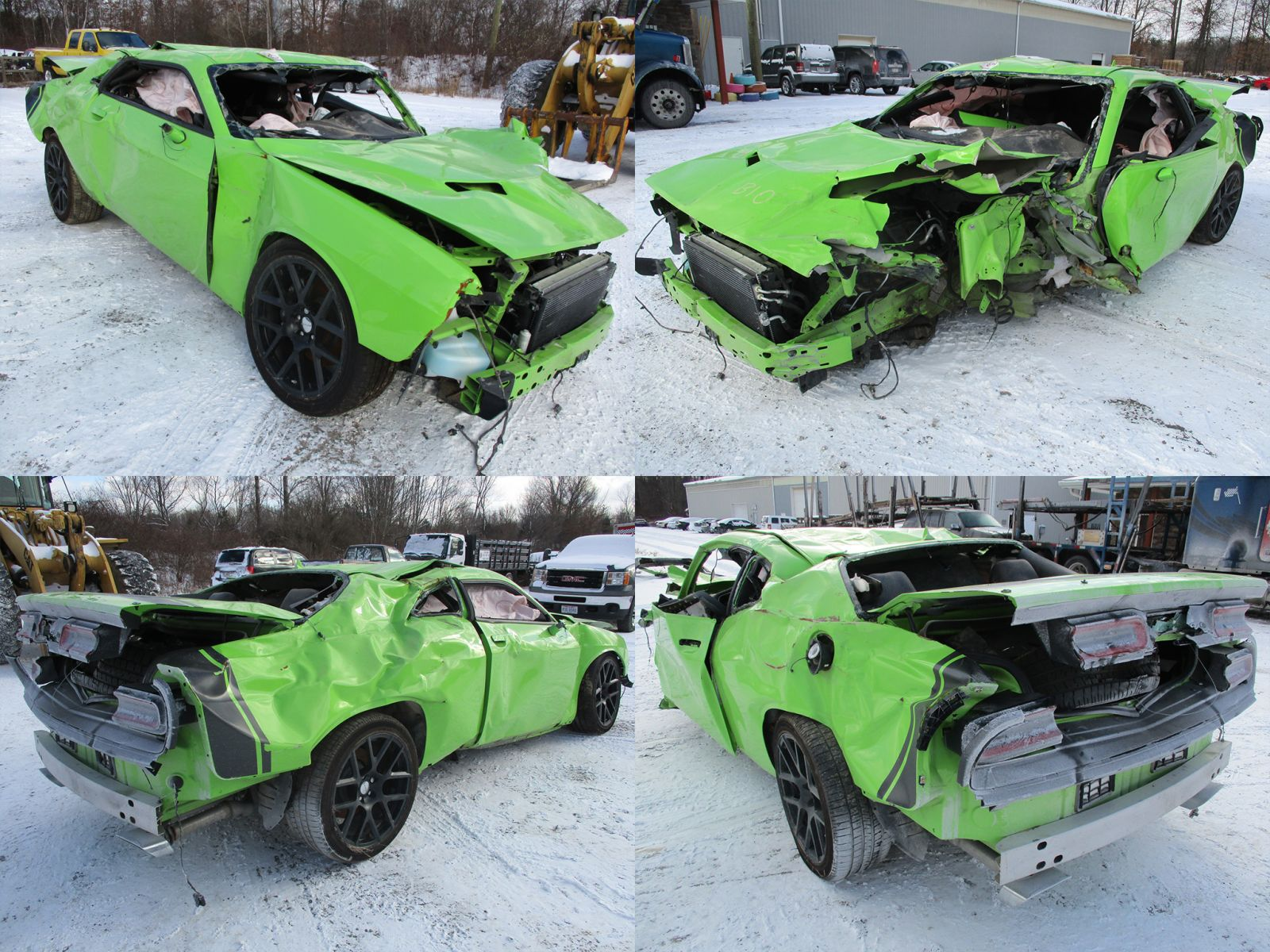 Wrecked Cars For Sale >> 2015 Sublime Green Dodge Challenger R/T Scat Pack 6.4L - Cleveland Power & Performance