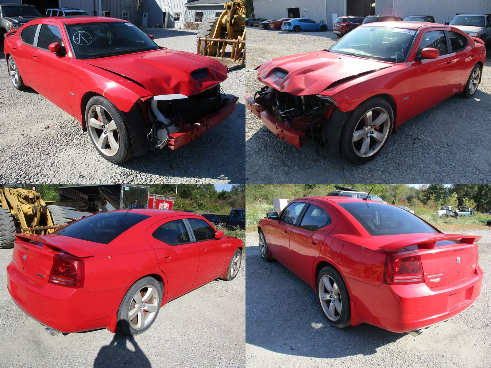 2008 Red Dodge Charger Srt 8 Cleveland Power Amp Performance