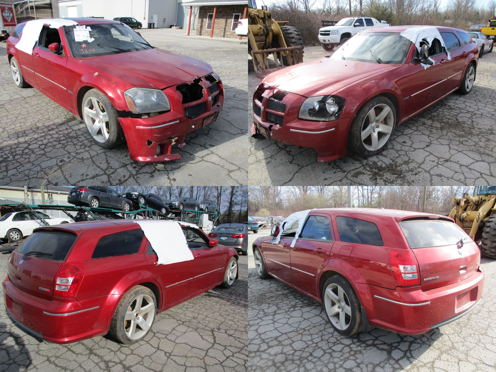 2006 Red Dodge Magnum Srt 8 Cleveland Power Amp Performance