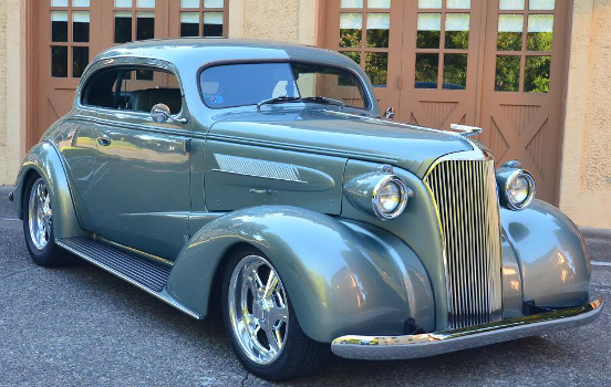 Keith's 1937 Chevy with LT1 engine swap