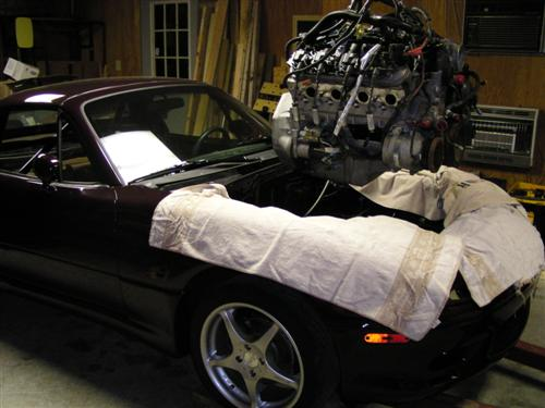 LS1 MANUAL MIATA ENGINE SWAP