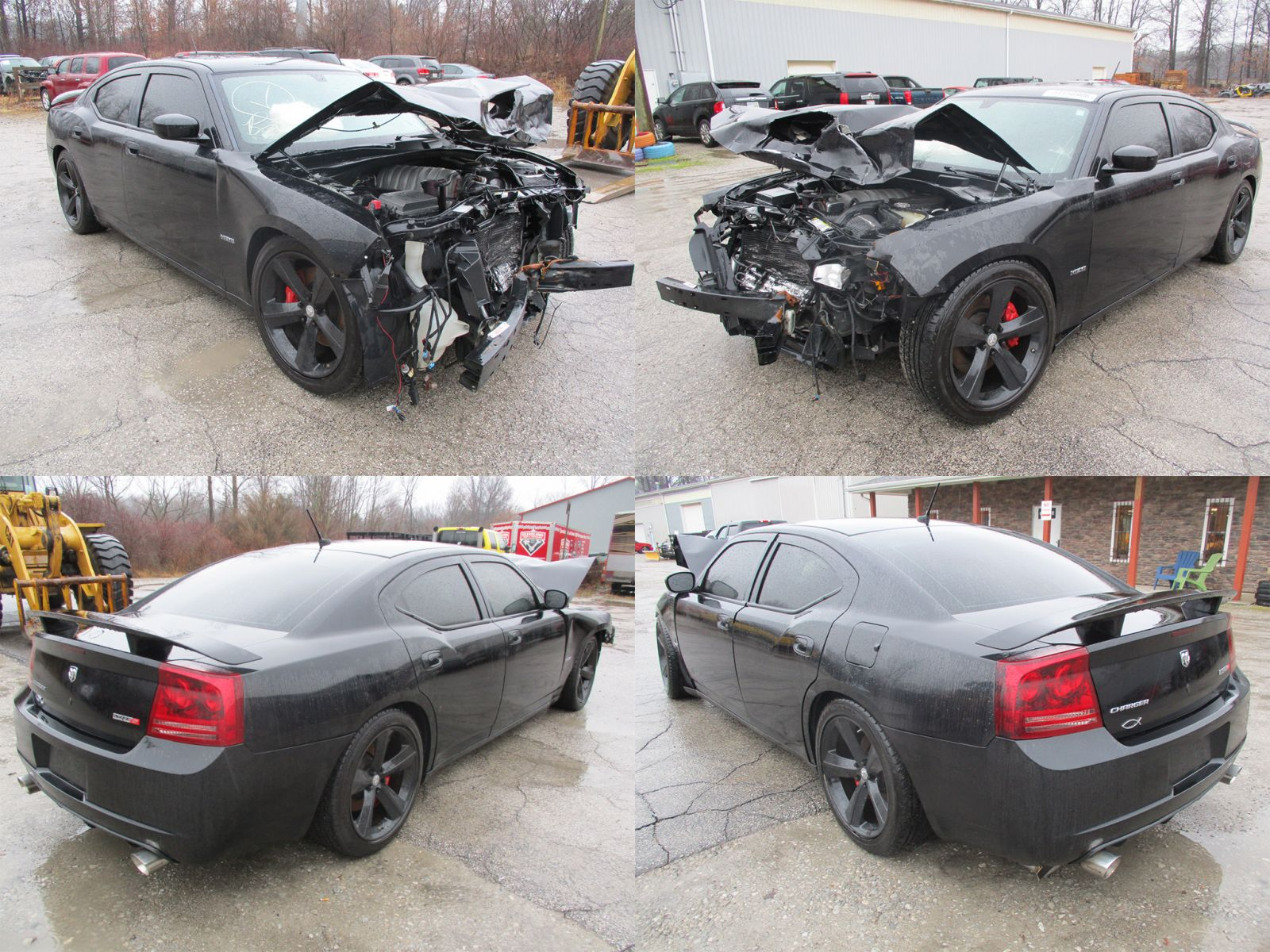 Dodge Hellcat For Sale >> 2008 Black Dodge Charger SRT-8 - Cleveland Power & Performance