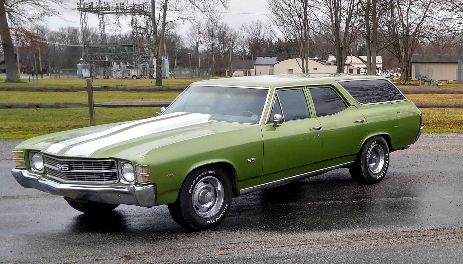 Wrecked Cars For Sale >> 71 Chevelle Concours Station Wagon 307ci 3 speed auto trans - Cleveland Power & Performance