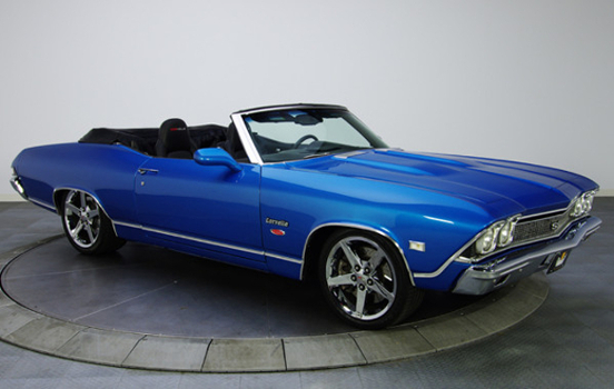 Don's 1968 Chevelle on a C6 Corvette LS2 Chassis