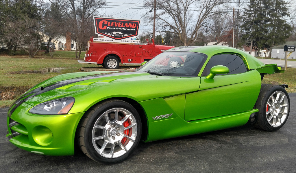 Rebuildable 2008 Dodge Viper SRT10 Coupe 10k miles