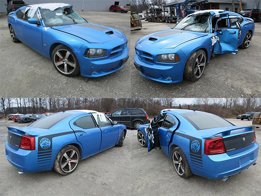 2008 B5 Blue Dodge Charger Super Bee Cleveland Power