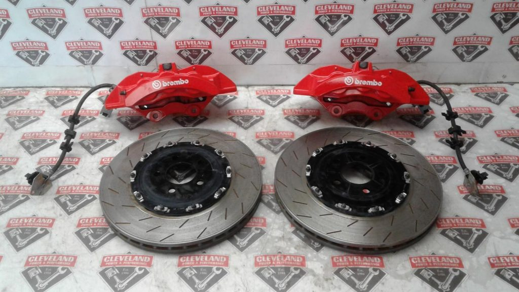 Here Are Some Photos Showing How We A Set Of Factory Red Painted Hellcat Brakes