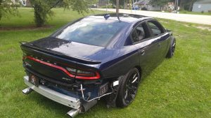 Wrecked Hellcat Cleveland Power Performance