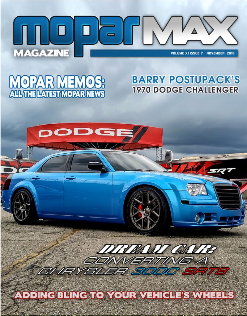 Cleveland Power and Performance moparmax 300c stick swap article by tim mulcahy photo
