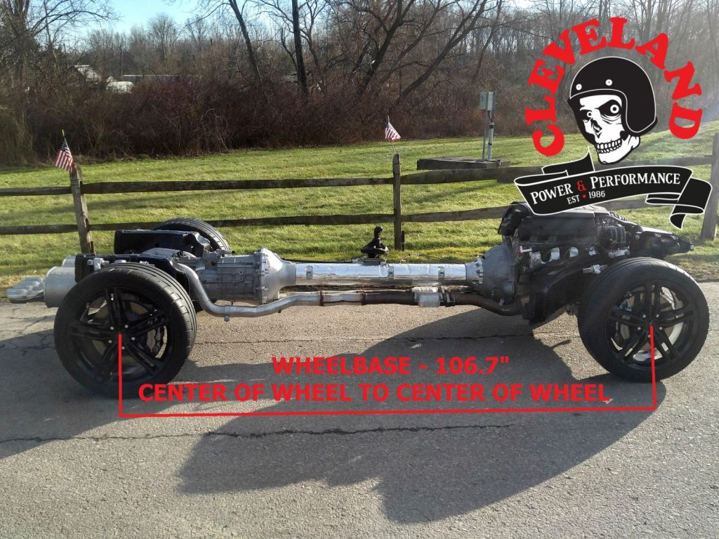 Corvette Rolling Chassis Measurements - Cleveland Power & Performance