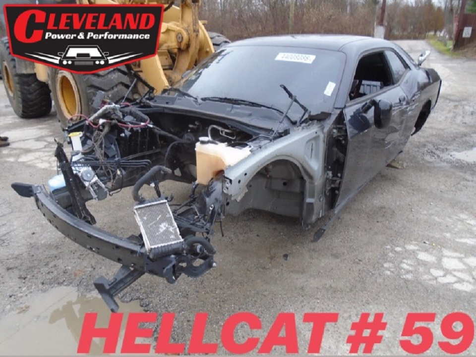 Wrecked Hellcat Arrivals Cleveland Power Performance