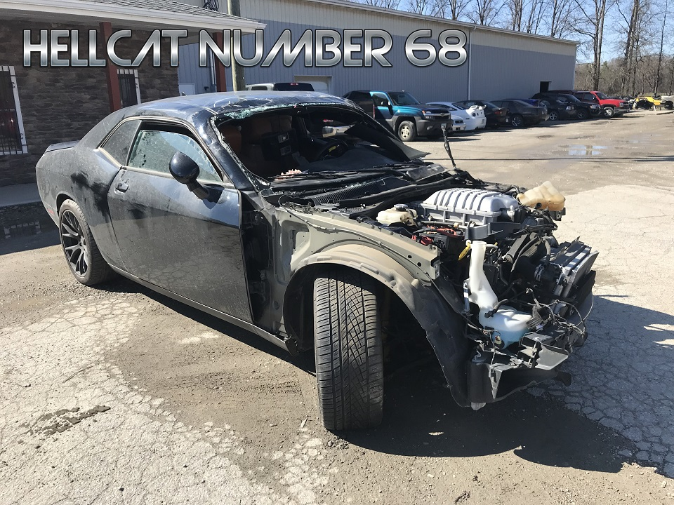 2015 Dodge Challenger Hellcat For Sale >> Wrecked Hellcat Arrivals Cleveland Power Performance