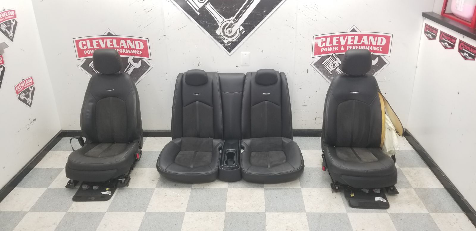 2013 13 cadillac cts v coupe oem front rear seats - Cadillac cts interior accessories ...