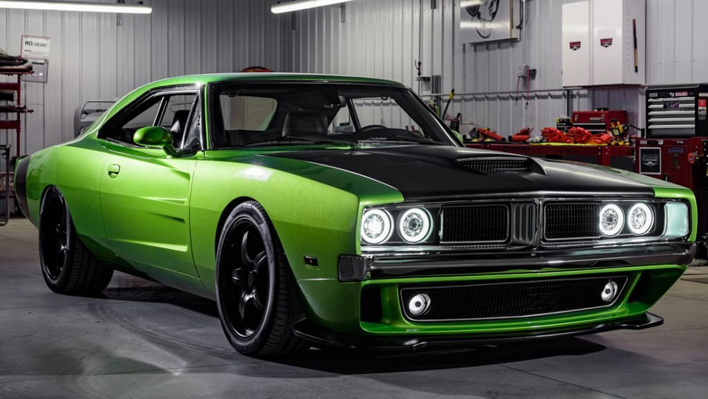 Reverence 1969 Charger Hellcat